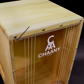CHAANYカホン「CHCC」 打面のチューニング