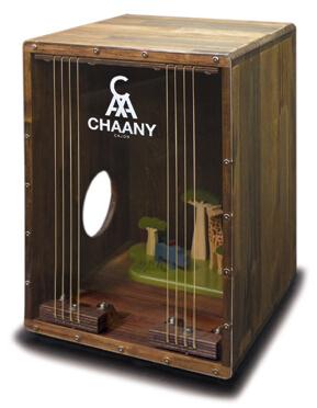 CHAANYカホン「CHCC-DS」 模型入りカホン