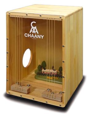 CHAANYカホン「CHCC-ND」 模型入りカホン