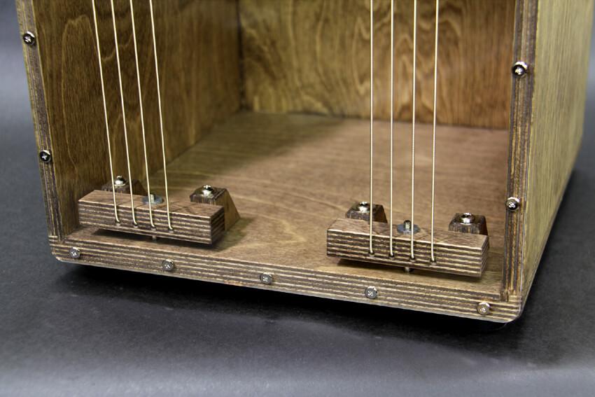 CHAANYカホン「Caleb CHBD-S Standard」 ペグと響き線