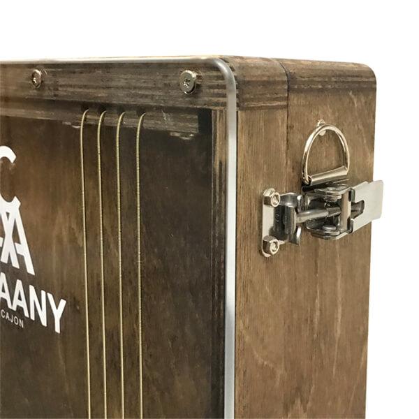 CHAANYの折りたたみカホンBolso ストラップ用金具(留め金)