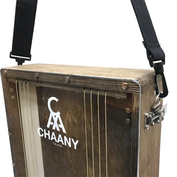 CHAANYの折りたたみカホンBolso ストラップ用金具