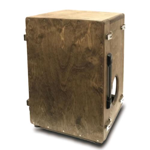 CHAANYの折りたたみカホンBolso オプションの取手(組み立てた状態の裏面)