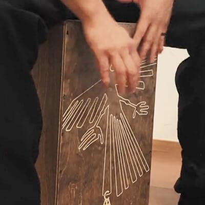 CHAANYカホン「Nazca」 繊細なタッチを逃さない響き線